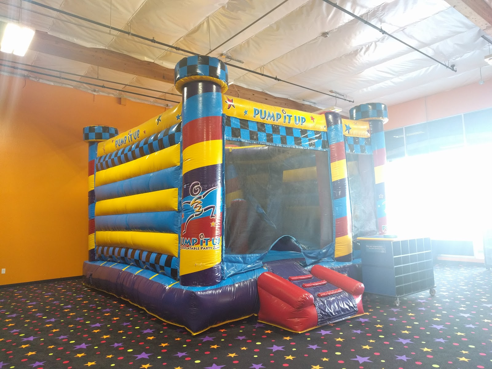 Stuck For Kids Birthday Party Ideas Then Look No Further Pump It Up Of San Jose CA Is A Venue Like Other